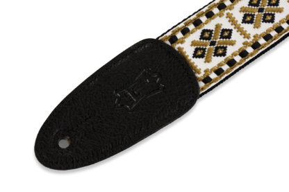 "Levy's M8HT-07 | Pattern Guitar Straps Prints Series  2"" Wide Jacquard Guitar Strap."