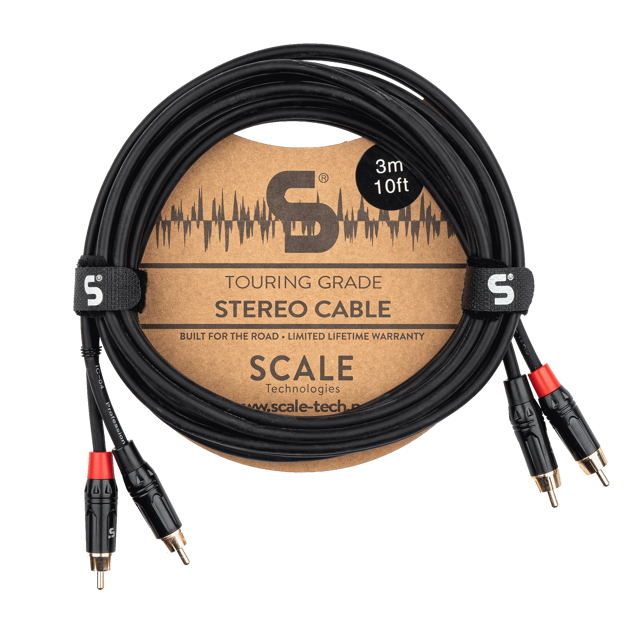 Scale Technologies Touring Grade TGS-PP-0300, 2 x RCA-RCA