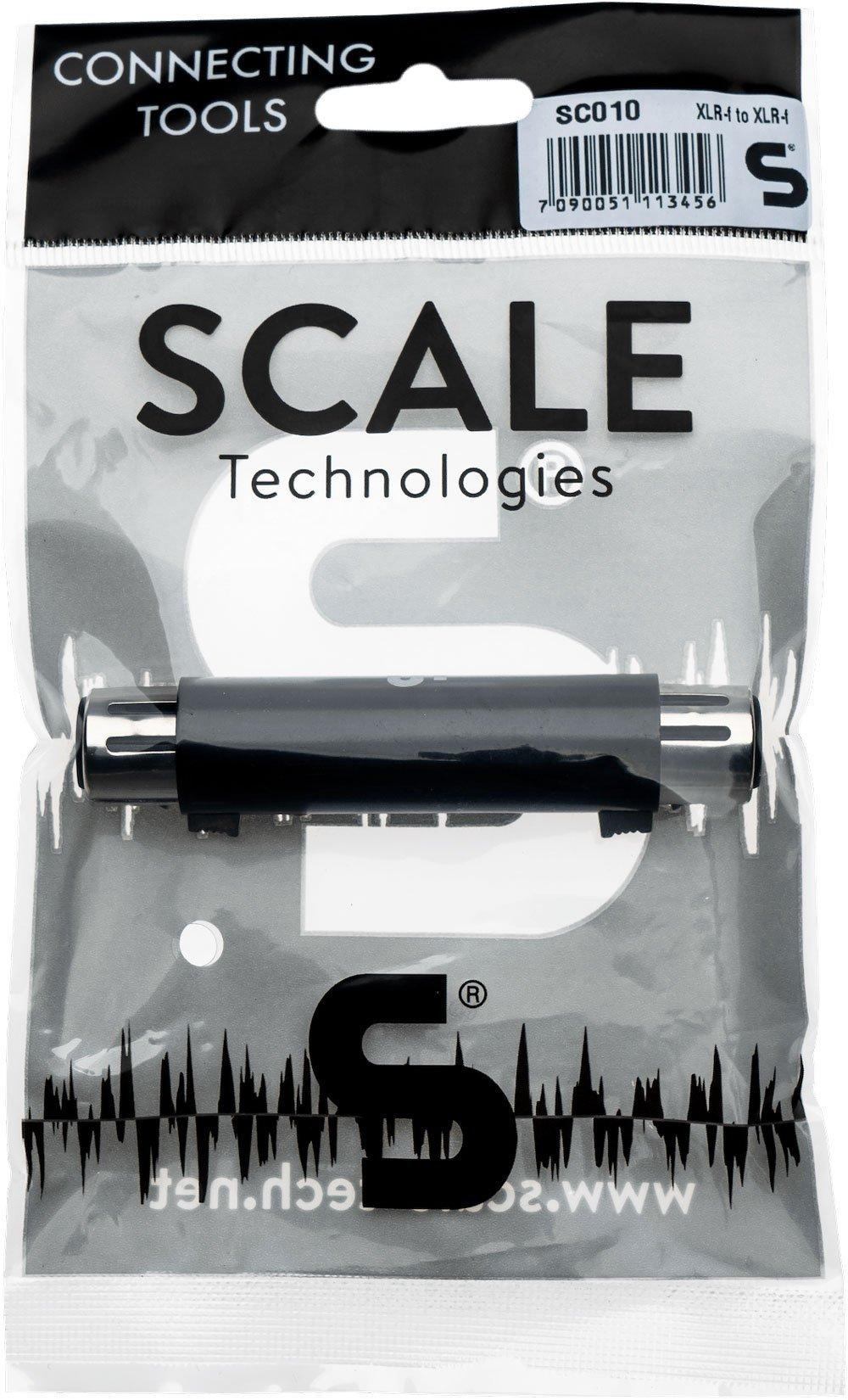 Scale Technologies SC010 - XLR Female to XLR Female Adapter
