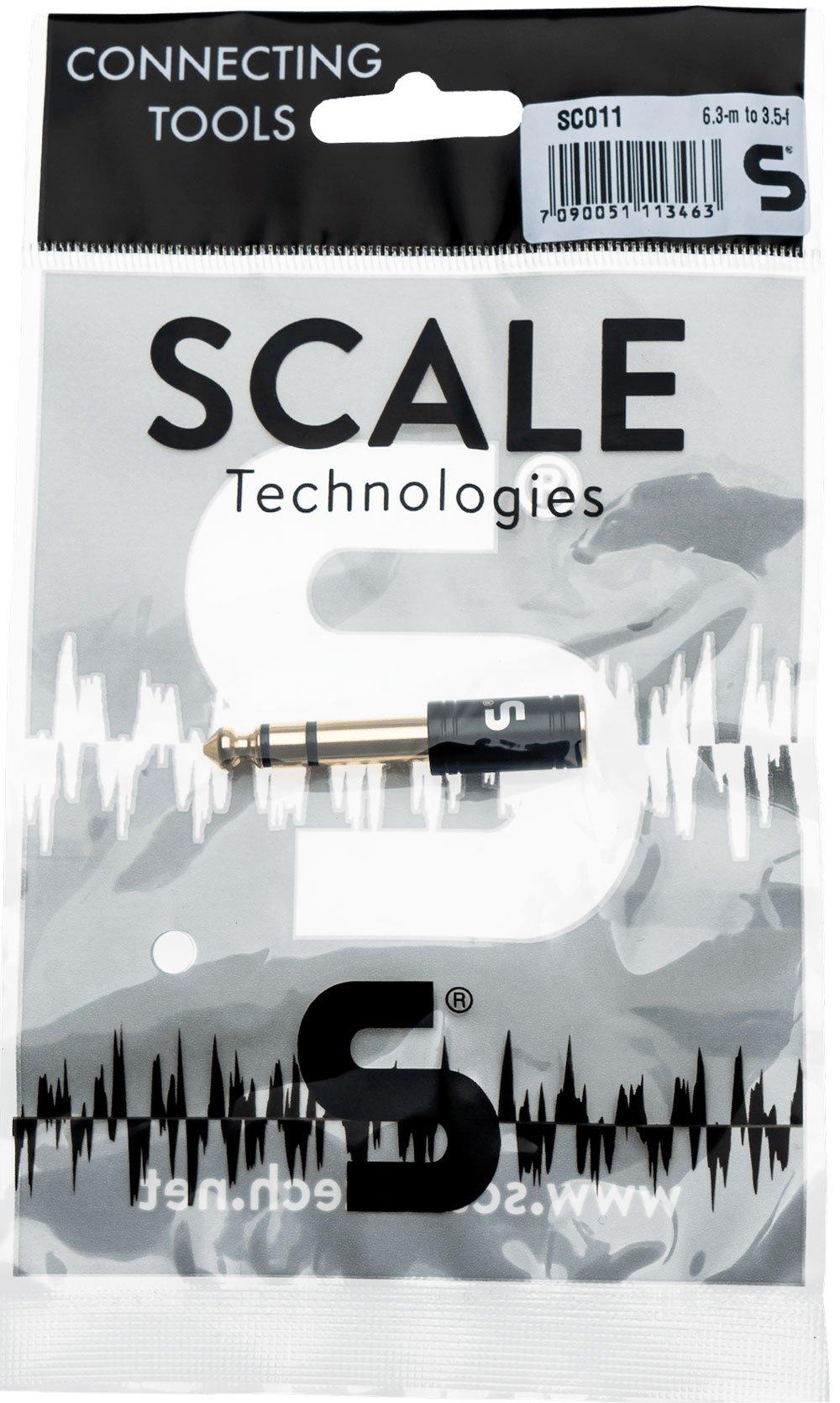 Scale Technologies SC011 - minijack stereo to stereo 6,3