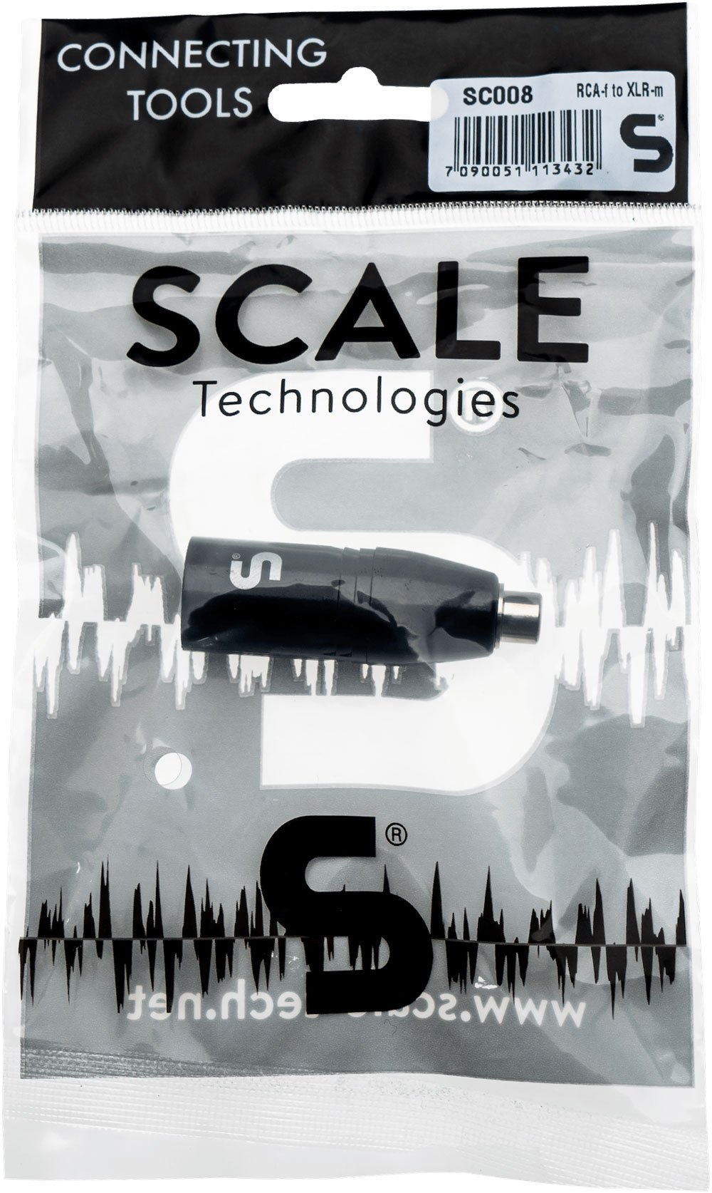 Scale Technologies SC008 - RCA Adapter to XLR Male
