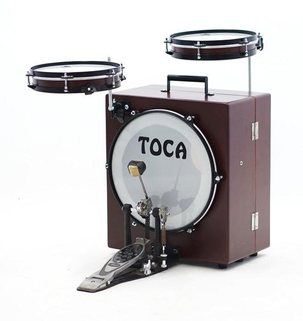 Toca Kickboxx Suitcase Drum Set  - TKSDS