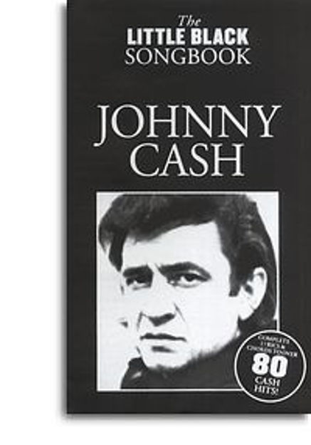 Johnny Cash - the Little Black Songbook (tekster og akkorder)