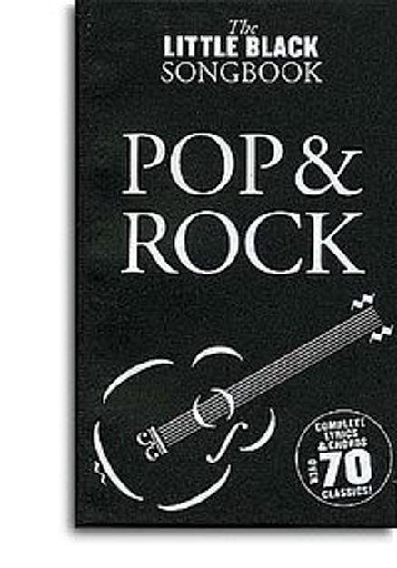 Pop and Rock - the Little Black Songbook (tekster og akkorder)