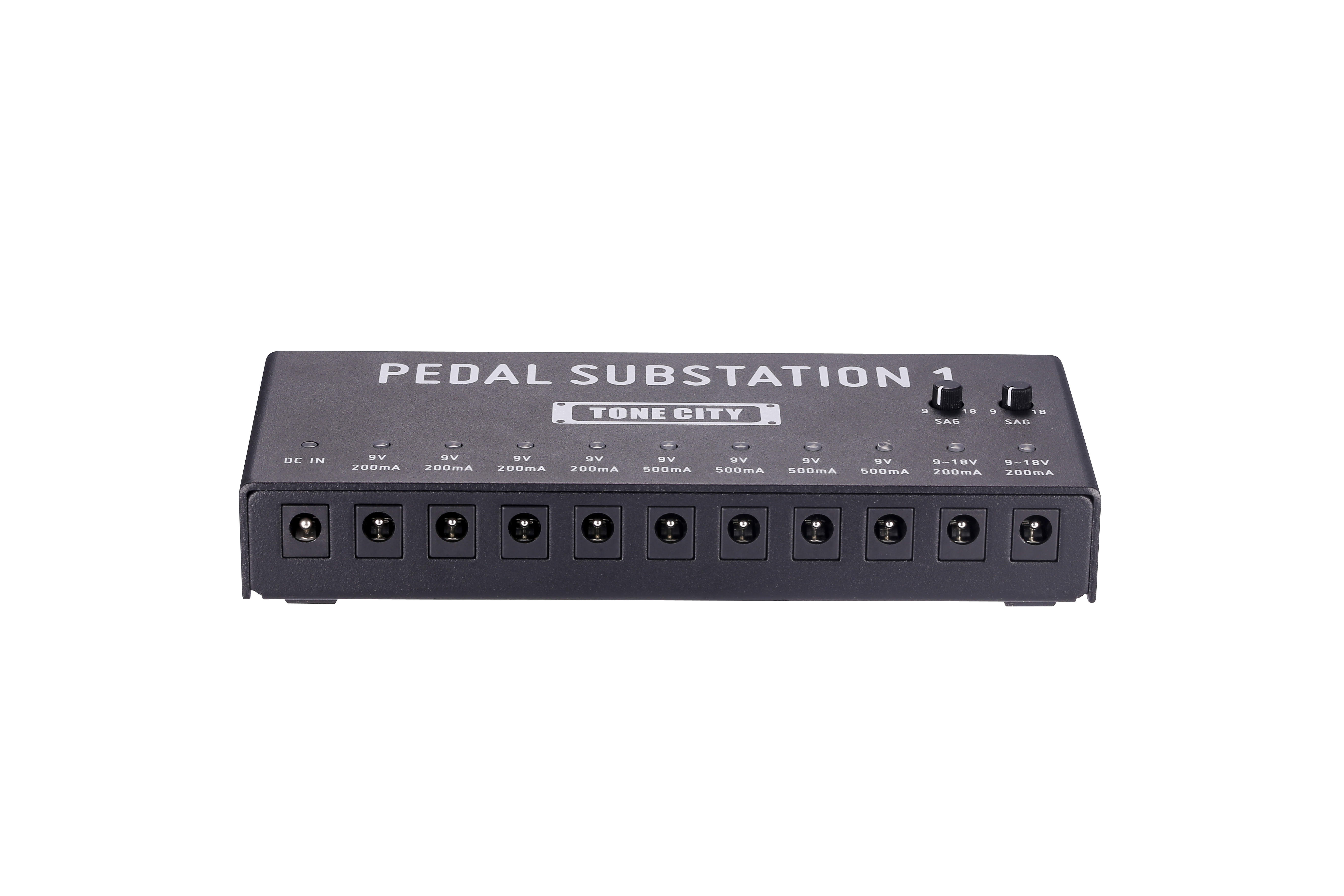 Tone City Pedal Substation 10 output Pedal power supply