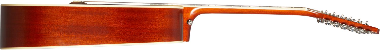 Epiphone Hummingbird 12-str All Solid Wood Aged Cherry Sunburst Gloss