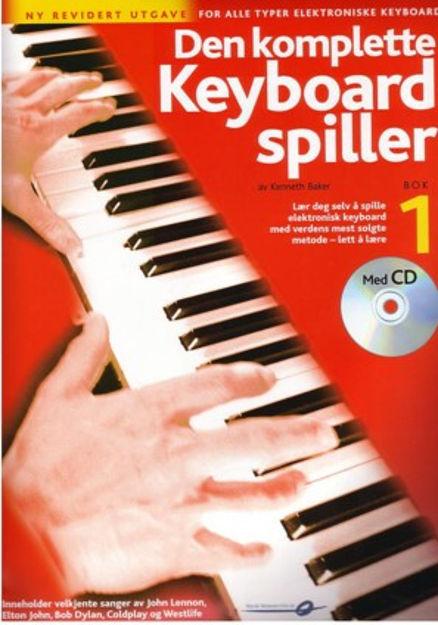 Den komplette keyboard spiller 1 m/CD