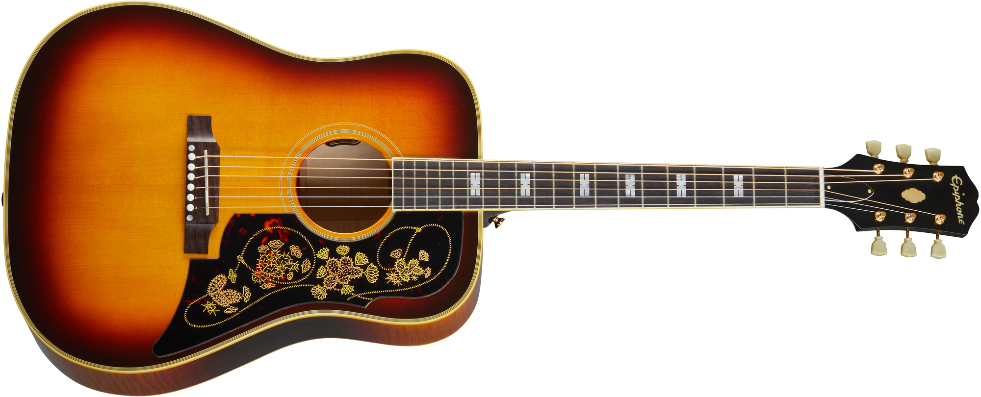 Epiphone Frontier Made In USA Frontier Burst