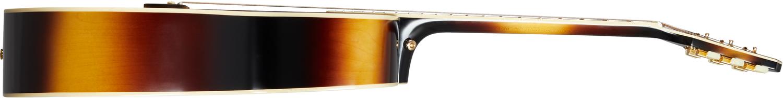 Epiphone J-200 All Solid Wood Aged Vintage Sunburst Gloss