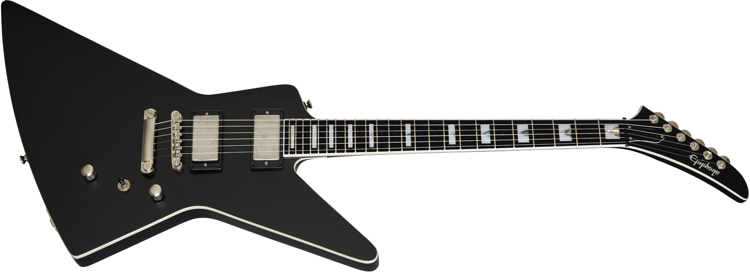 Epiphone Extura Prophecy Black Aged Gloss
