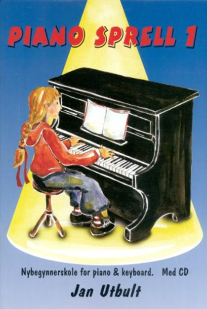 Pianosprell bok 1 m/CD (Pianobus) - Utbult