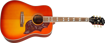 Epiphone Hummingbird All Solid Wood Aged Cherry Sunburst Gloss
