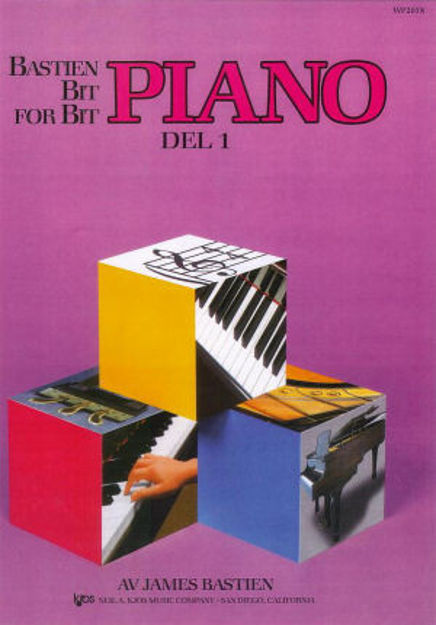 Bastien Bit for bit 1 Pianoskole Norsk utgave