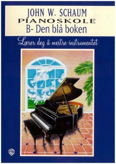 Schaum B Norsk utgave - Blå bok