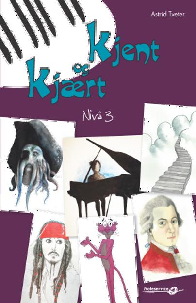 Kjent og kjært 3 - Astrid Tveter pianohefte