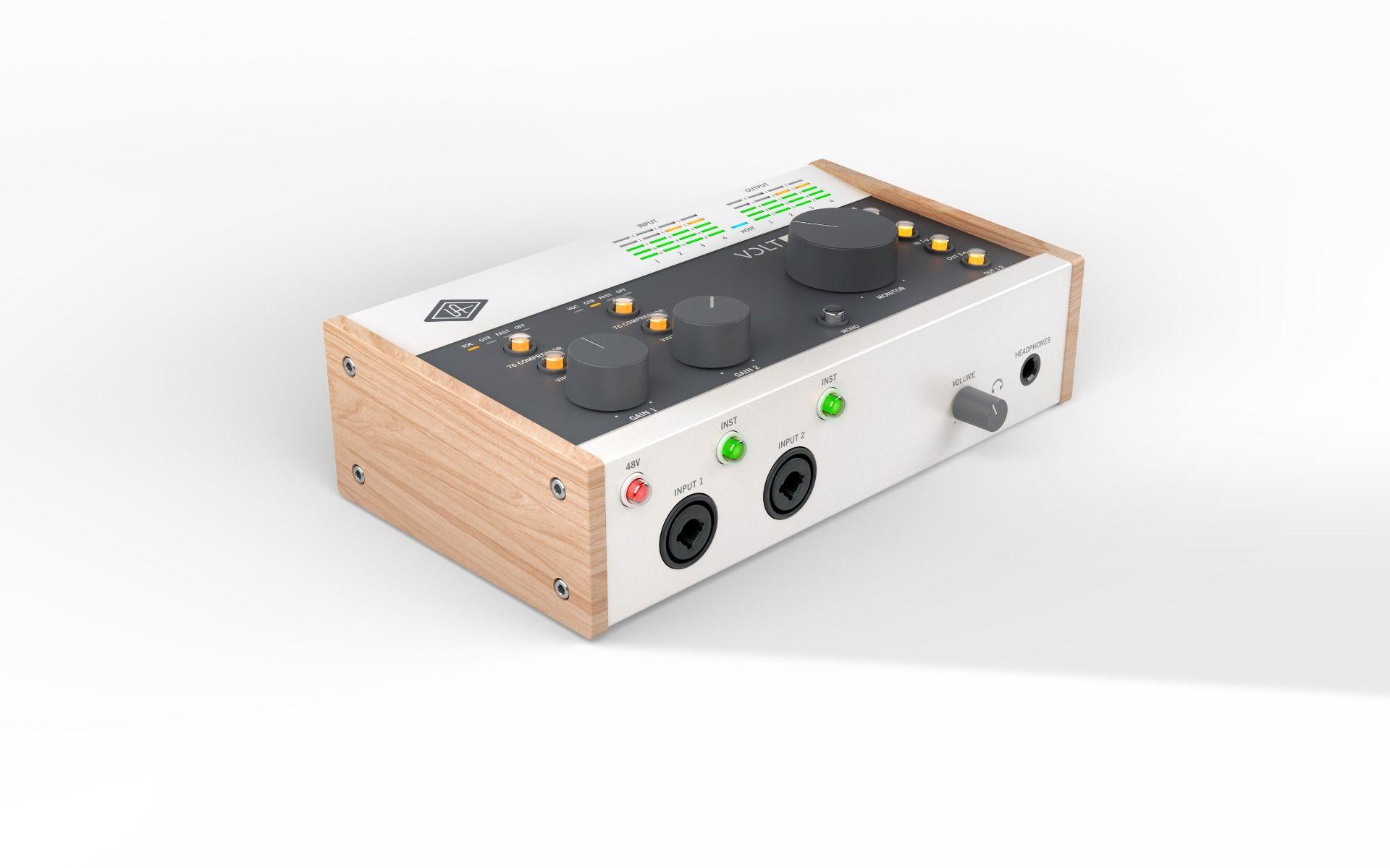 Universal Audio VOLT 476 USB Audio Interface 4 inn 4 ut