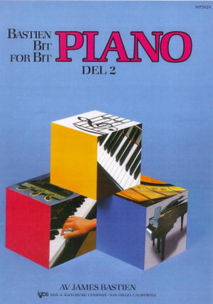 Bastien Bit for bit 2 Pianoskole Norsk utgave