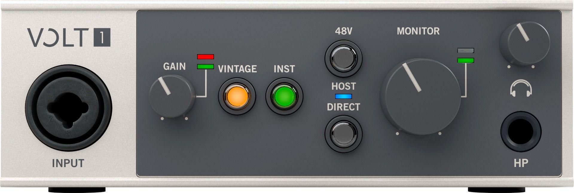 Universal Audio VOLT 1 USB Audio Interface 1 inn 2 ut
