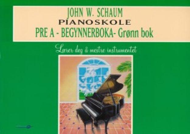 Schaum Pre-A Norsk utgave - Grønn bok