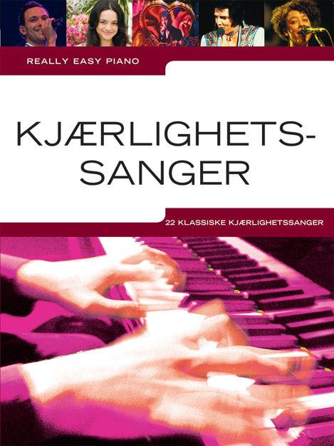 Really Easy Piano Kjærlighetssanger