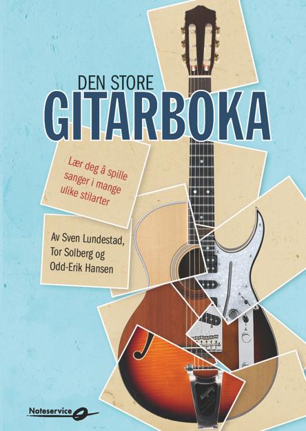 Den store gitarboka - Lundestad, Solberg, Hansen