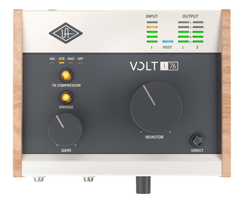 Universal Audio VOLT 176 USB Audio Interface 1 inn 2 ut