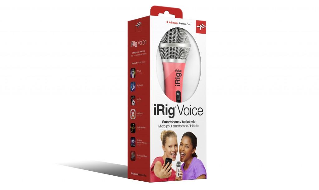 IK Multimedia iRig Voice - Pink version