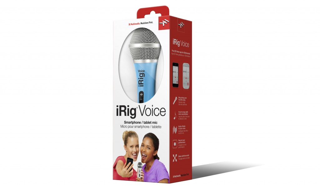 IK Multimedia iRig Voice - Blue version